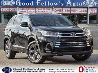 Used 2019 Toyota Highlander LIMITED, AWD, 7PASS, LEATHER SEATS, SUNROOF, NAVI for sale in Toronto, ON