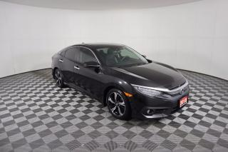 Used 2018 Honda Civic Touring 1 OWNER - NO ACCIDENTS   NAVI   SUNROOF   LEATHER   ADAPTIVE CRUISE   REMOTE START for sale in Huntsville, ON