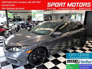 Used 2020 Honda Civic EX+LaneKeep+Camera+ApplePlay+CLEAN CARFAX for sale in London, ON