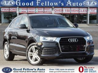 Used 2018 Audi Q3 KOMFORT, BACKUP CAMERA, LEATHER SEATS, PANROOF for sale in Toronto, ON