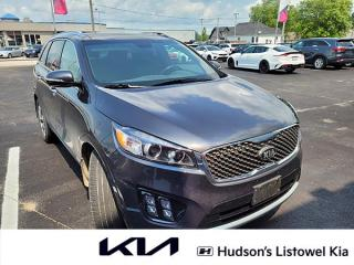 Used 2018 Kia Sorento 2.0L SX One Owner | 7-Seater | Sunroof for sale in Listowel, ON