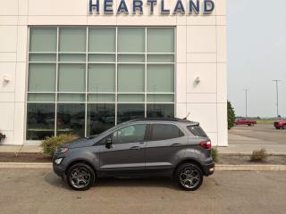 Used 2018 Ford EcoSport SES SUNROOF   REMOTE START   BACK UP CAMERA   HEATED SEATS-USED EDMONTON FORD DEALER for sale in Fort Saskatchewan, AB