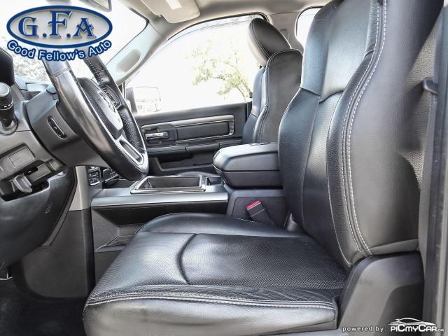 2014 RAM 1500 SPORT CREW CAB, 4WD, LEATHER SEATS, SUNROOF, NAVI Photo9