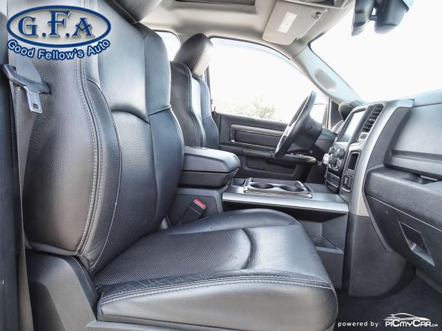 2014 RAM 1500 SPORT CREW CAB, 4WD, LEATHER SEATS, SUNROOF, NAVI Photo11