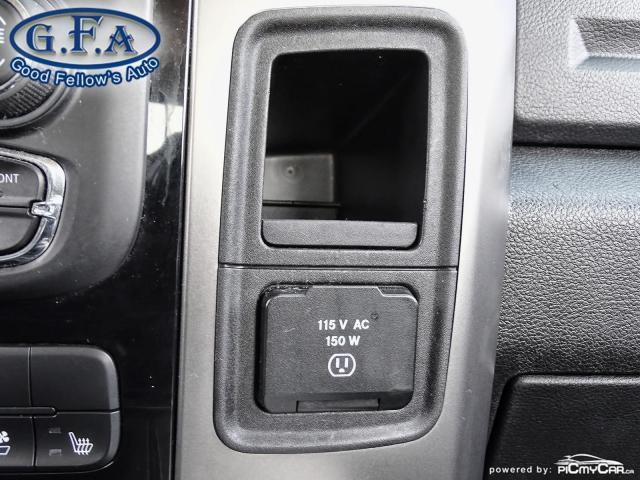 2014 RAM 1500 SPORT CREW CAB, 4WD, LEATHER SEATS, SUNROOF, NAVI Photo15