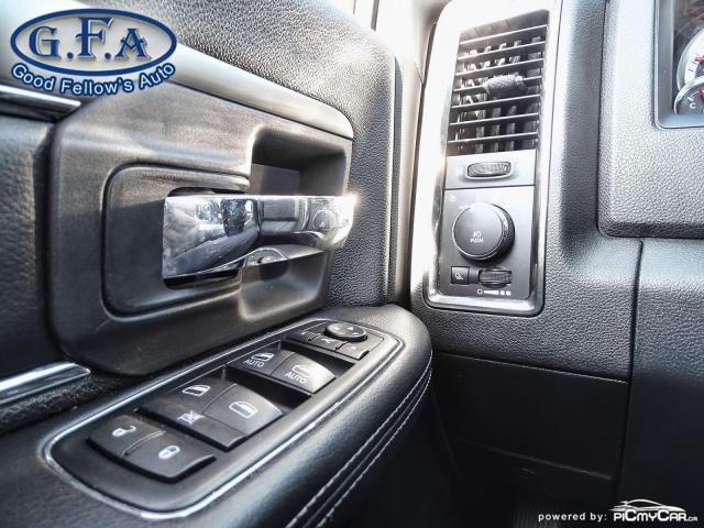 2014 RAM 1500 SPORT CREW CAB, 4WD, LEATHER SEATS, SUNROOF, NAVI Photo17