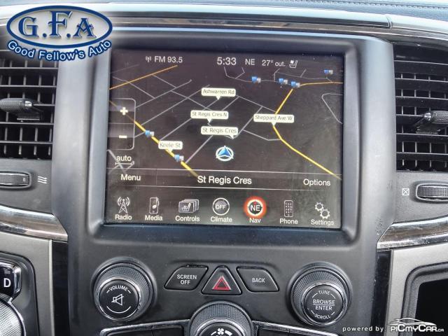 2014 RAM 1500 SPORT CREW CAB, 4WD, LEATHER SEATS, SUNROOF, NAVI Photo18