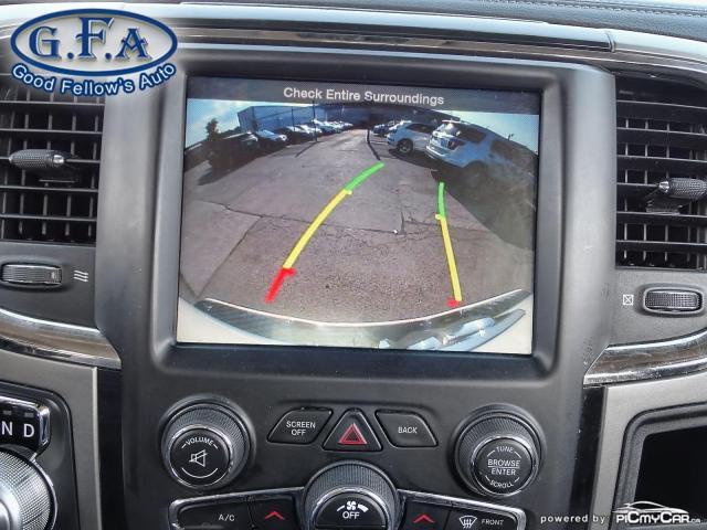 2014 RAM 1500 SPORT CREW CAB, 4WD, LEATHER SEATS, SUNROOF, NAVI Photo19