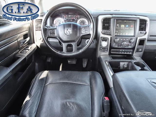 2014 RAM 1500 SPORT CREW CAB, 4WD, LEATHER SEATS, SUNROOF, NAVI Photo21