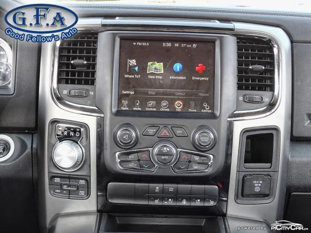2014 RAM 1500 SPORT CREW CAB, 4WD, LEATHER SEATS, SUNROOF, NAVI Photo22