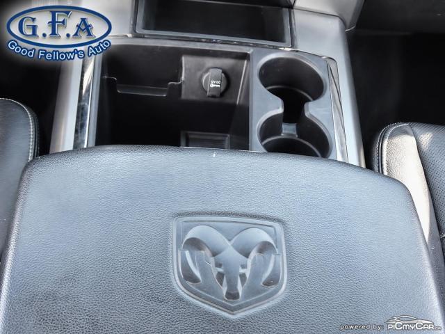 2014 RAM 1500 SPORT CREW CAB, 4WD, LEATHER SEATS, SUNROOF, NAVI Photo23