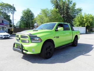 Used 2017 RAM 1500 Sublime Sport Crew Cab Loaded/No Accidents for sale in Windsor, ON