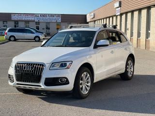 Used 2014 Audi Q5 2.0L Progressive Panoramic Sunroof/Leather for sale in North York, ON