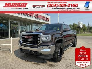 Used 2016 GMC Sierra 1500 *SLE*Onstar 4G LTE*EZ Lift Tail Gate*Back-Up Cam* for sale in Brandon, MB