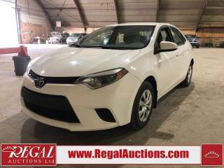 Used 2015 Toyota Corolla 4D Sedan FWD for sale in Calgary, AB