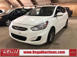 Used 2012 Hyundai Accent 4D Hatchback for sale in Calgary, AB