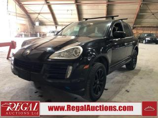 Used 2009 Porsche Cayenne 4D Utility 4WD for sale in Calgary, AB