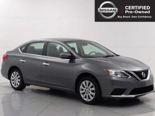 Used 2017 Nissan Sentra S Bluetooth, Sport/ Eco mode, Cruise control for sale in Winnipeg, MB