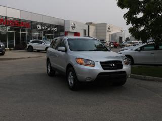 Used 2009 Hyundai Santa Fe GL AWD, Heated seats, Leather steering wheel for sale in Winnipeg, MB