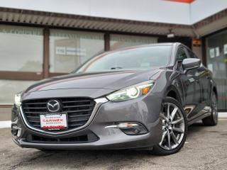Used 2018 Mazda MAZDA3 GT BSM | NAVI | SUNROOF | BOSE for sale in Waterloo, ON