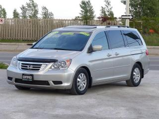 Used 2009 Honda Odyssey EX-L,LEATHER,8-SEATER,POWER DOORS,CERTIFIED,LOADED for sale in Mississauga, ON
