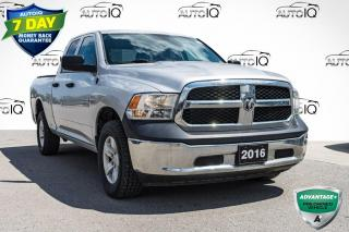 Used 2016 RAM 1500 ST LOCAL TRADE | LOW MILEAGE | QUAD CAB for sale in Innisfil, ON