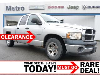Used 2004 Dodge Ram 1500 ST AS-IS for sale in Ottawa, ON