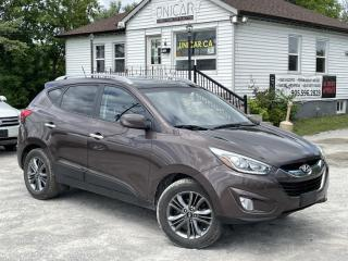 Used 2014 Hyundai Tucson 1-Owner No-Accidents AWD Leather Backupcam Pano Roof for sale in Sutton, ON