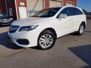 Used 2016 Acura RDX Tech Pkg Navigation, All-wheel drive for sale in Dunnville, ON