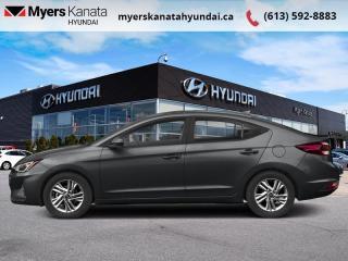 Used 2020 Hyundai Elantra Preferred w/Sun & Safety Package IVT  - $148 B/W for sale in Kanata, ON