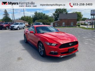 Used 2017 Ford Mustang V6  - Bluetooth - Low Mileage for sale in Kemptville, ON