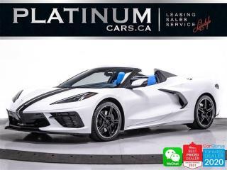 Used 2021 Chevrolet Corvette Stingray Convertible w/3LT,V8,490HP,CAMERA,NAVI for sale in Toronto, ON
