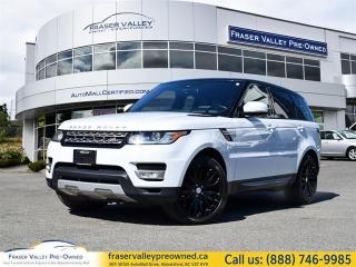 Used 2016 Land Rover Range Rover Sport V6 HSE  7 Seat Package, Diesel, Rear DVD, Heads Up Display, Meridian Sound System for sale in Abbotsford, BC