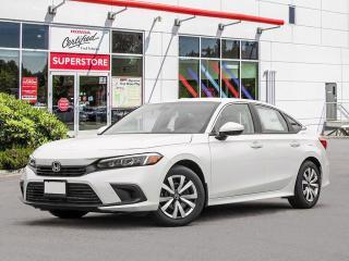 New 2022 Honda Civic SEDAN LX for sale in Port Moody, BC