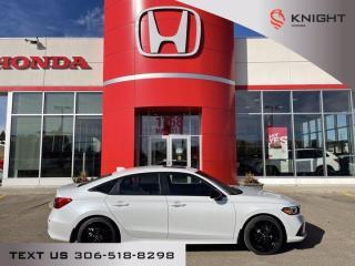 New 2022 Honda Civic Sedan Sport for sale in Moose Jaw, SK