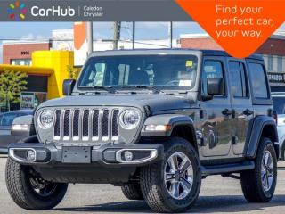 New 2021 Jeep Wrangler Unlimited Sahara 4x4 Hard Top Navigation Bluetooth Backup Camera Apple Carplay Remote Start for sale in Bolton, ON