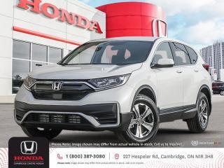 New 2021 Honda CR-V LX APPLE CARPLAY™ & ANDROID AUTO™ | HONDA SENSING TECHNOLOGIES | REARVIEW CAMERA for sale in Cambridge, ON