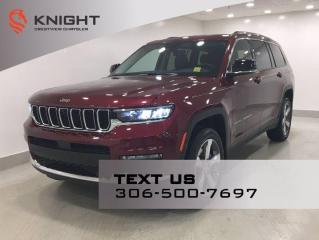 New 2021 Jeep Grand Cherokee L Limited | Leather | Sunroof | Navigation | for sale in Regina, SK