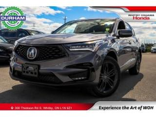 Used 2021 Acura RDX SH-AWD for sale in Whitby, ON