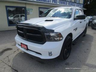 Used 2020 Dodge Ram 1500 LIKE NEW CLASSIC-MODEL 6 PASSENGER 5.7L - HEMI - V8.. 4X4.. CREW-CAB.. SHORTY.. TOW SUPPORT.. BACK-UP CAMERA.. BLUETOOTH SYSTEM.. KEYLESS ENTRY.. for sale in Bradford, ON