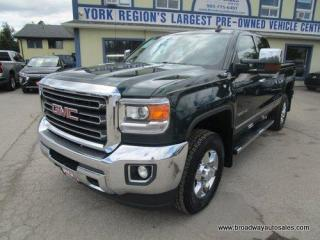 Used 2015 GMC Sierra 2500 1/2 TON SLT-Z71-MODEL 5 PASSENGER 4X4.. QUAD-CAB.. SHORTY.. TRAILER BRAKE.. LEATHER.. HEATED/AC SEATS.. BACK-UP CAMERA.. POWER PEDALS.. for sale in Bradford, ON