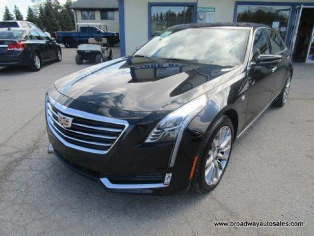 2018 Cadillac CT6 ALL-WHEEL DRIVE PREMIUM-EDITION 5 PASSENGER 3.0L -TWIN-TURBO.. NAVIGATION.. LEATHER.. HEATED/AC SEATS.. DUAL SUNROOF.. BACK-UP CAMERA.. BLUETOOTH..