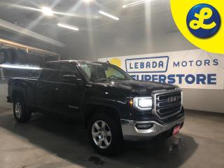 Used 2018 GMC Sierra 1500 SLE Z71 Double Cab 5.3L V8 4X4 * 18 inch Chorme Alloy Rims * Remote Start * Phone Projection * Apple Car Play * Android Auto * Heated Cloth Seats * Po for sale in Cambridge, ON