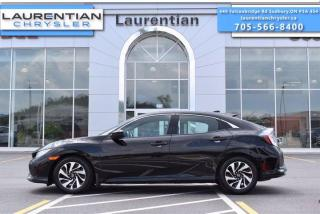 Used 2017 Honda Civic Hatchback LX - GREAT ON FUEL !! BACK UP CAM !! for sale in Sudbury, ON