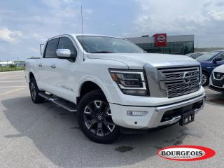 Used 2020 Nissan Titan Platinum Reserve *CPO* NAVIGATION, 360 CAMERA, SUNROOF for sale in Midland, ON
