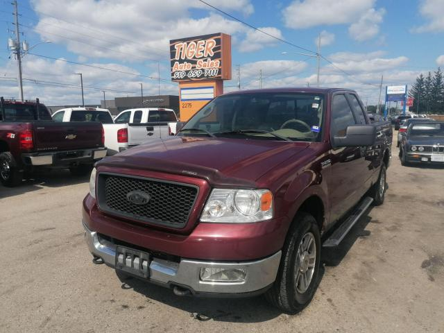 2005 Ford F-150 *V8*4X4*ONLY 202KMS*EXT CAB*AS IS SPECIAL