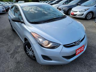 Used 2012 Hyundai Elantra GL/AUTO/PWER GROUP/CLEAN for sale in Scarborough, ON