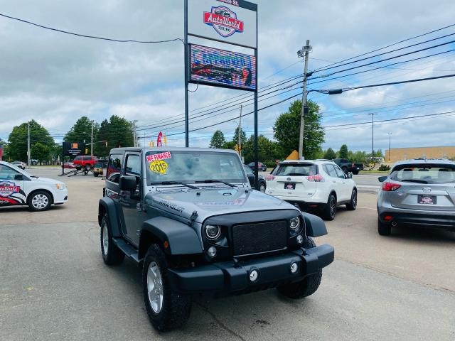 2015 Jeep Wrangler SPORT / AUTOMATIC / AC / CLEAN CAR FAX /