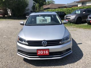Used 2016 Volkswagen Jetta TSI trend line for sale in Hamilton, ON
