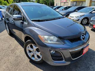 Used 2011 Mazda CX-7 GT/AWD/NAVI/CAMERA/LEATHER/ROOF/LOADED/ALLOYS for sale in Scarborough, ON